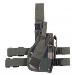 Drop leg holster woodland