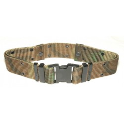 Combat Belt Nylon woodland