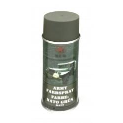 Bombe peinture mate pour réplique 400ml vert armée