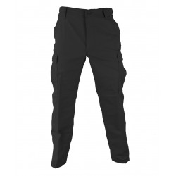Pantalon de treillis coupe BDU Ripstop Noir