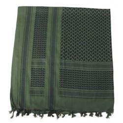 Shemagh vert et noir