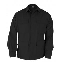 BDU coat Ripstop Black