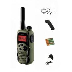 Talkie walkie - PMR - Twintalker 9500 + 1 classic PTT + 1 kit de têteZ124 - Topcom