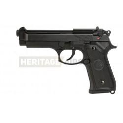 SR92 - Gaz - Culasse métal - (réplique du pistolet M9) - SRC