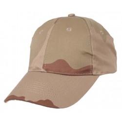 Baseball cap Desert 3 tones