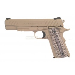 Colt 1911 - Tan Coyote Désert - CO2 - Cybergun