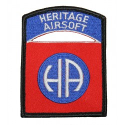 "Ecusson Heritage Airsoft ""All Heritage"""