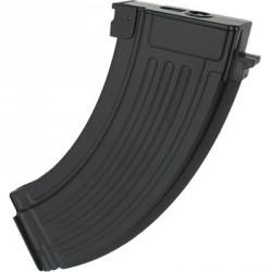 [MID-CAP] Chargeur AK 47 métal - 140 billes - Noir (PMEL)