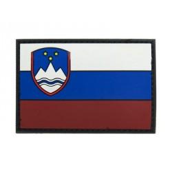 Écusson - Drapeau Slovénie - PVC