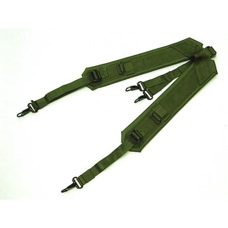 Suspenders nylon type LC2 Olive