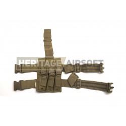 Porte-chargeurs de cuisse - MP5 - Coyote - Viper