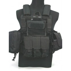 MAR Ciras style plate carrier vest Black