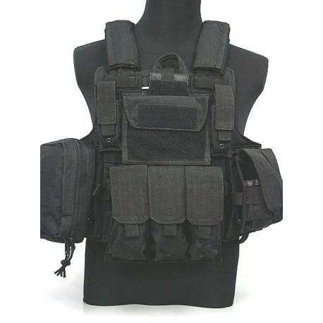 MAR Ciras style plate carrier vest Black