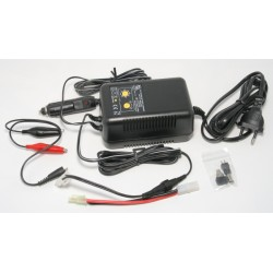 NiMh and NiCd battery charger
