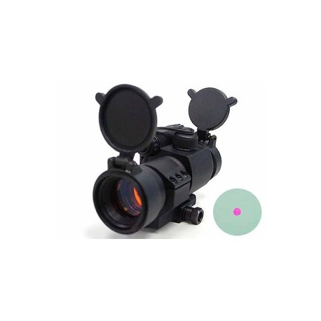 Viseur Point Rouge ou red dot 30 mm avec support en L