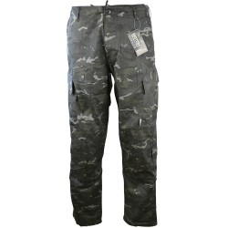 Pantalon d'airsoft - coupe ACU - Multicam Black [BTP] - Kombat UK