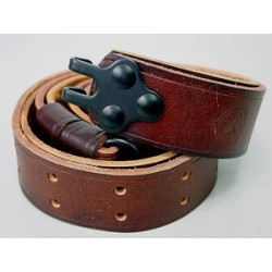 Sangle (bretelle) en cuir marron pour M1 Garand et M14