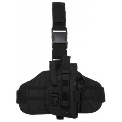 Leg Holster with MOLLE platform black
