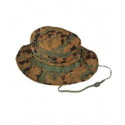 Chapeau de brousse (Boonie hat) digital woodland MARPAT