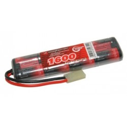 NiMh mini battery 9,6V 1600 mAh