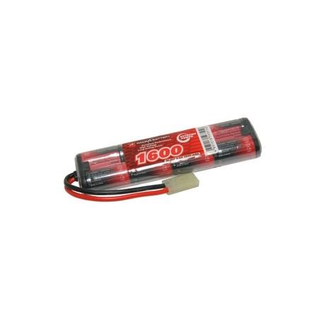 NiMh mini battery 9,6V 1600 mAh