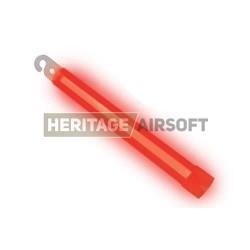Batonnet lumineux phosphorescent - Cyalume - Rouge