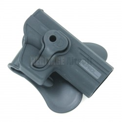 Holster rigide ROTO - GLOCK WE - Noir - NUPROL
