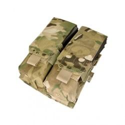 Poche porte chargeurs MOLLE M4 M16 AK double Multicam