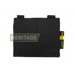 Porte chargeurs double d'airsoft - M4 M16 - élastique - Noir