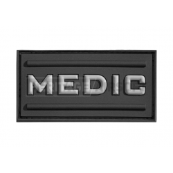 Écusson d'airsoft PVC - MEDIC - Gris - Invader Gear