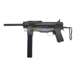 Réplique d'airsoft M3A1 Grease Gun - Batterie et chargeur de batterie - S&T