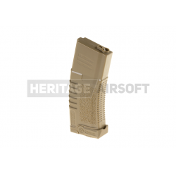 Chargeur M4 M16 140 billes avec extracteur intégré - Tan - Ares Amoeba