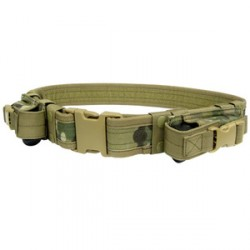 Tactical belt with magazine pouches PA Multicam