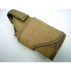 Holster MOLLE réglable coyote
