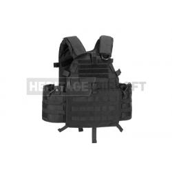 Gilet style 6094A - Porte-plaques - Noir - Invader Gear
