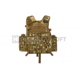 Gilet style 6094A - Porte-plaques - Multi camo - Invader Gear