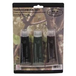 Camouflage Cream 3 tubes set