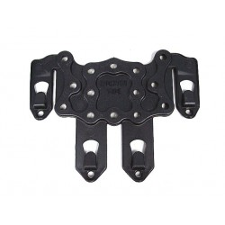 MOLLE Mount Holster type CQC Black