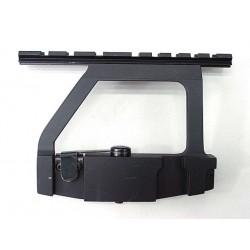 Rail latéral AK pour optique