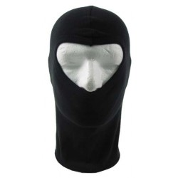 Balaclava one hole coton black