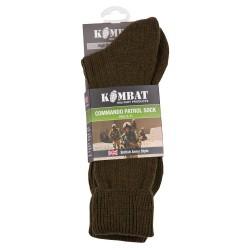 Chaussettes Commando Uk army - Olive - Kombat
