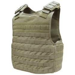 Veste MOLLE Defender Plate Carrier (DFPC) Tan