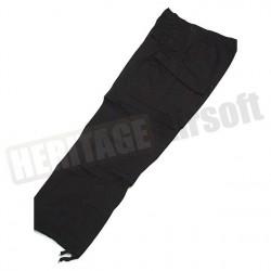 Pantalon de treillis coupe ACU ripstop noir
