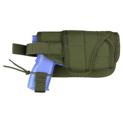 Holster MOLLE - Universel - Horizontal réglable - Olive