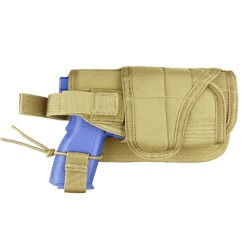 Holster MOLLE - Universel - Horizontal réglable - Tan