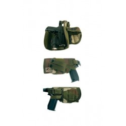 Holster d'airsoft adpatable MOLLE centre europe droitier - OPEX - HOL16