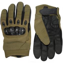 Gants d'airsoft Elite avec renforts Olive - Viper