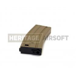 [MID-CAP] Chargeur M4 M16 métal - Tan - 70 billes