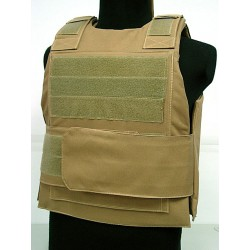 Airsoft bullet proof Vest coyote