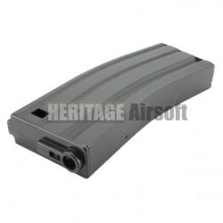 [Real Cap] Chargeur type M4 Stanag - 30 Billes - Noir - Plastique - SRC
